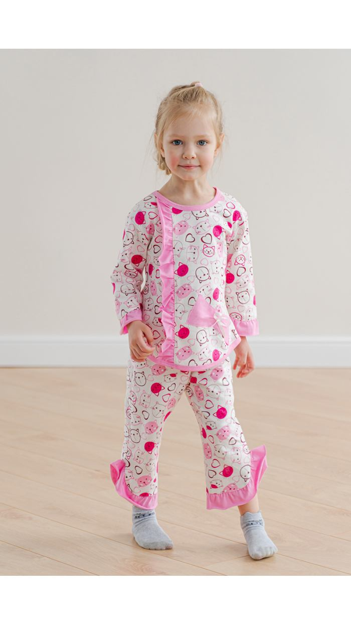 Пижама детская . Артикул 026400601