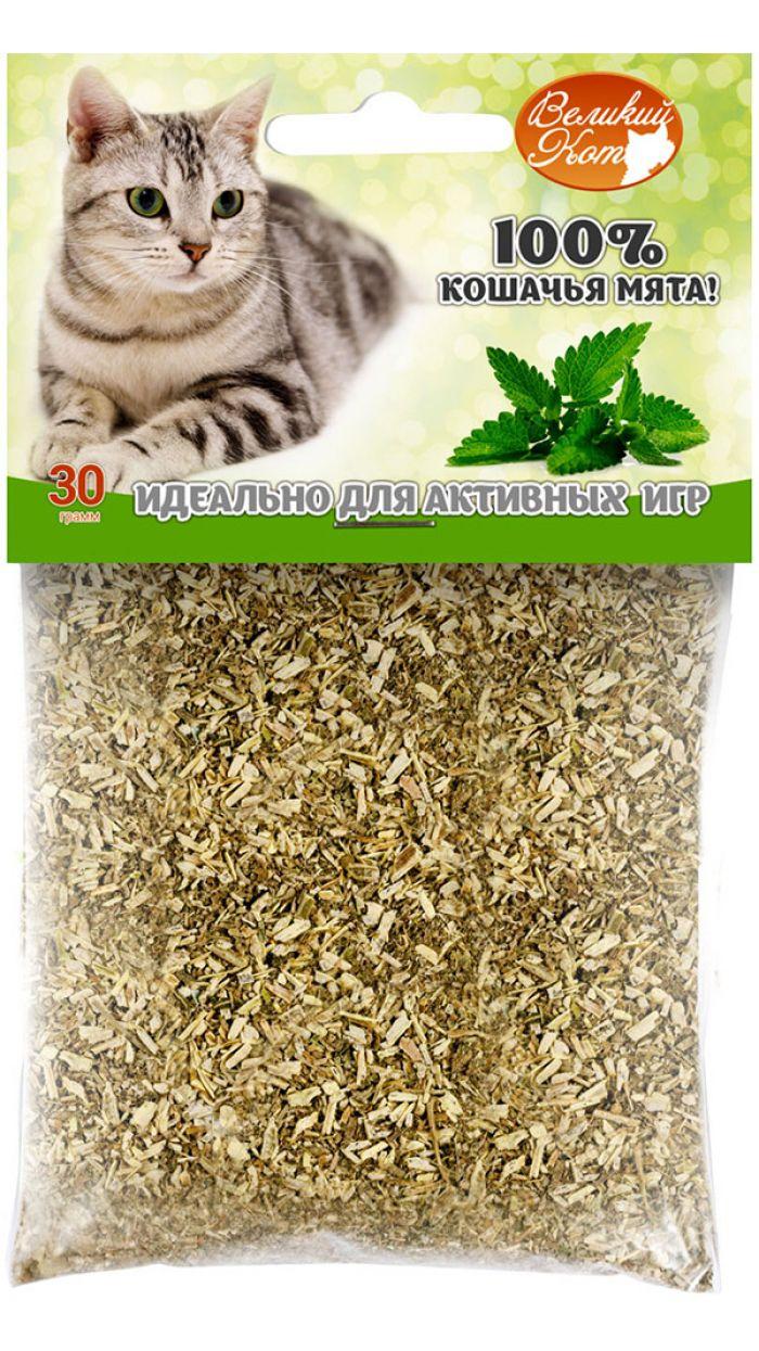 Мята молотая для кошек Великий кот 070100044 070100044