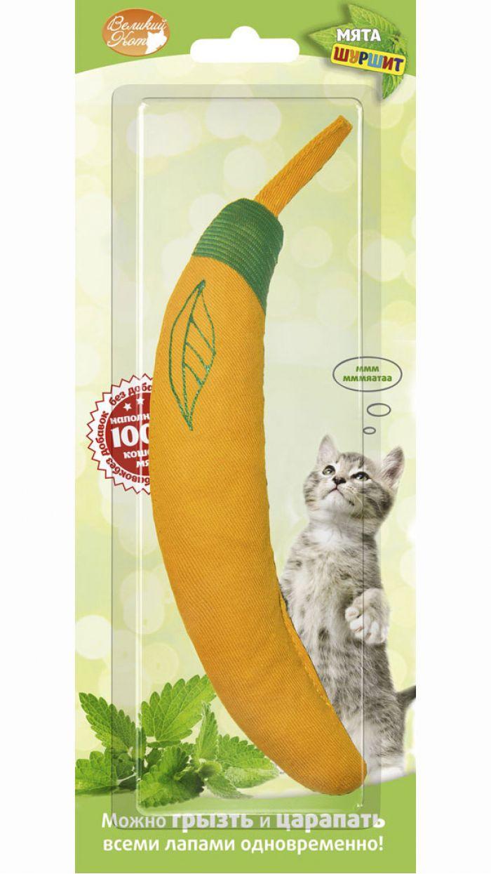 Игрушка Банан для кошек. Артикул 070100059