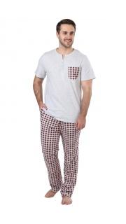 Купить Пижама мужская 000100046 в розницу