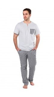 Купить Пижама мужская 000100056 в розницу
