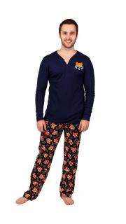 Купить Пижама мужская 000100060 в розницу