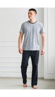 Купить Пижама мужская (макси) 000100068 в розницу