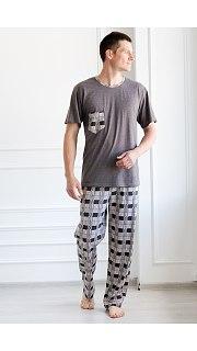 Купить Пижама мужская 000100071 в розницу