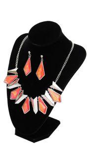 Купить Гарнитур: ожерелье и серьги 000200072 в розницу