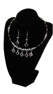 Купить Гарнитур: (Ожерелье и серьги) 000200086 в розницу