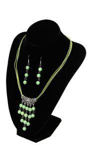 Купить Гарнитур: ожерелье и серьги 000200093 в розницу