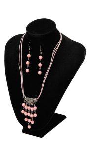 Купить Гарнитур: (серьги и ожерелье) 000200094 в розницу
