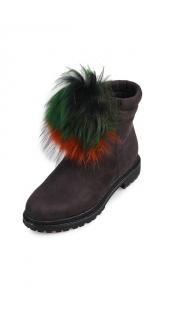 Купить Ботинки утепленные 002100291 в розницу