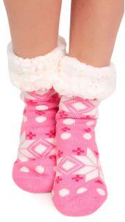 Купить Тапочки-носочки домашние женские 002700690 в розницу