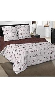 Купить КПБ Поплин Эксклюзив 2-спальное с европростыней 006800198 в розницу