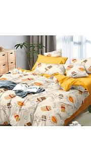 Купить КПБ Поплин Эксклюзив 2-спальное с европростыней 006800206 в розницу