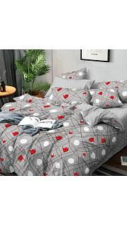 Купить КПБ Поплин Эксклюзив 2-спальное с европростыней 006800211 в розницу