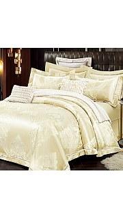 Купить КПБ Сатин Жаккард 2-спальное с европростыней 006800212 в розницу
