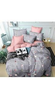 Купить КПБ Поплин Эксклюзив 2-спальное с европростыней 006800214 в розницу