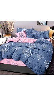 Купить КПБ Сатин 2-спальное с европростыней 006800219 в розницу
