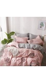 Купить КПБ Сатин 2-спальное с европростыней 006800222 в розницу