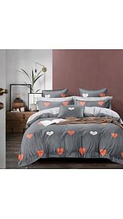 Купить КПБ Сатин 2-спальное с европростыней 006800227 в розницу