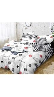 Купить КПБ Поплин Эксклюзив 2-спальное с европростыней 006800229 в розницу