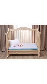 Купить Простынь на резинке в дет. кроватку 007100040 в розницу
