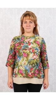 Купить Блузка женская 015100249 в розницу