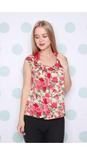 Купить Блузка женская 015300513 в розницу