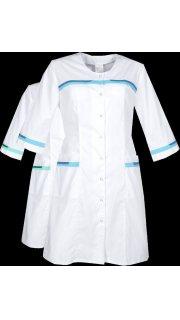 Купить Халат медицинский женский  016300033 в розницу