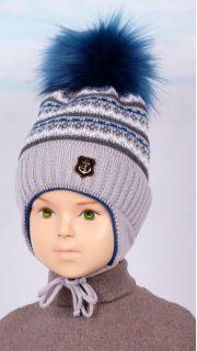 Купить Шапка утепленная детская 019900913 в розницу