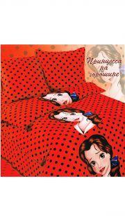 Купить Постельное бельё Бязь 1,5-спальное (Принцесса на горошине) 022500132 в розницу