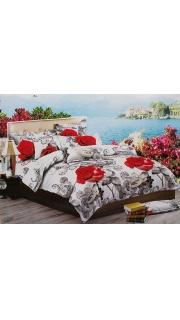 Купить КПБ 1.5-спальное ПОЛИСАТИН 022500504 в розницу
