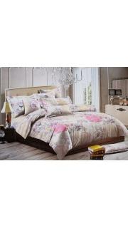Купить КПБ 1.5-спальное ПОЛИСАТИН 022500511 в розницу