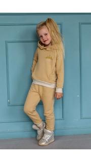 Купить Костюм для девочки с капюшоном 025701012 в розницу