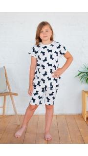 Купить Пижама подростковая для девочки  026400568 в розницу