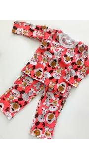 Купить Пижама детская для девочки 026400598 в розницу