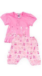 Купить Костюм для девочки (туника и брюки) 042200125 в розницу