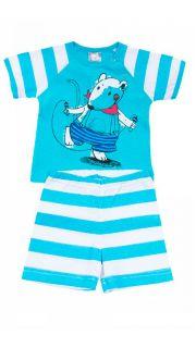 Купить Костюм для мальчика (футболка и шорты) 042200126 в розницу