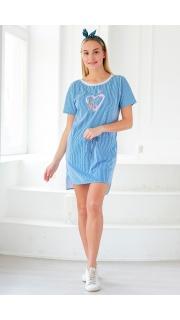Купить Платье-туника с кулиской 065209376 в розницу
