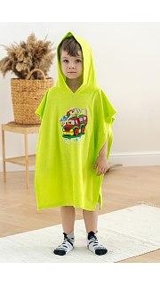 Купить Халат детский Пончо махра  071001076 в розницу