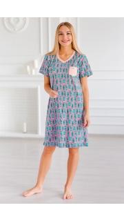 Купить Платье женское домашнее 074100205 в розницу