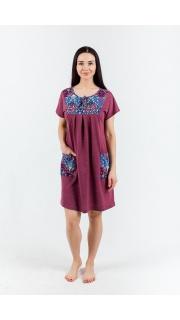 Купить Платье женское домашнее 074100213 в розницу