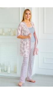 Купить Комплект  халат+майка+брюки 083000590 в розницу