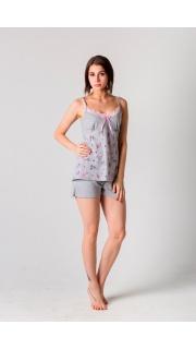 Купить Комплект женский топ+шорты 083000626 в розницу