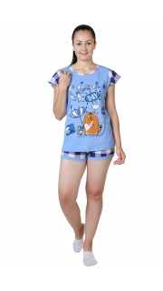 Купить Пижама женская 083000648 в розницу
