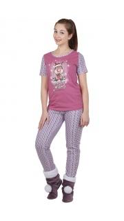 Купить Пижама женская 083000659 в розницу