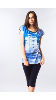 Купить Комплект футболка+бриджи 083200946 в розницу