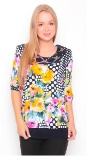 Купить Блузка женская 65430 в розницу